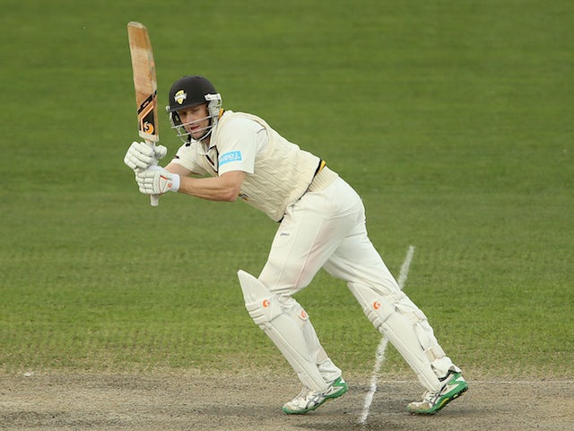 Adam Voges in action on March 24, 2015