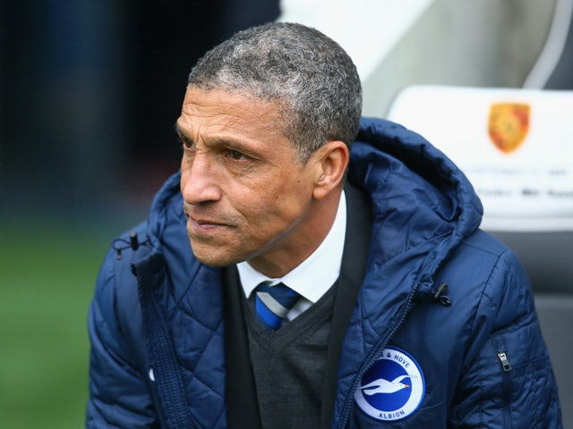 Brighton manager Chris Hughton hoping to emulate past Emirates success against Arsenal