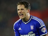 Christophe Berra for Ipswich Town on January 4, 2015