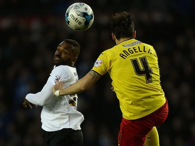 Result: Derby held to draw by 10-man Watford