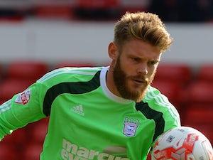 Ipswich keeper Gerken out for a month