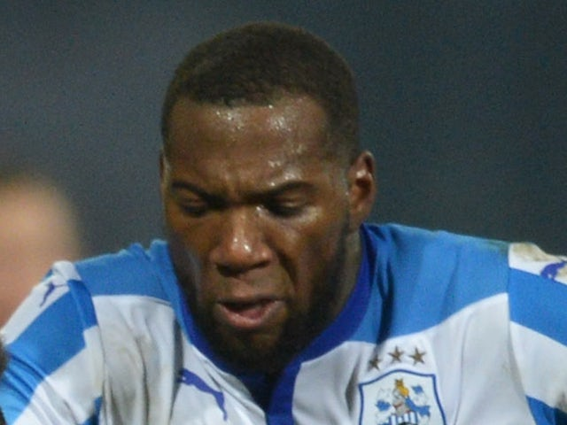 Ishmael Miller of Huddersfield Town during the Sky Bet Championship match between Huddersfield Town and Norwich City at John Smith's Stadium on March 17, 2015