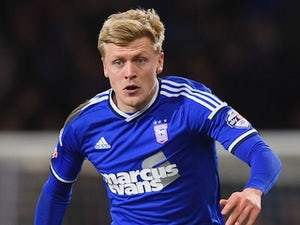 Jonathan Parr for Ipswich Town on January 14, 2015
