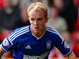 Jonny Williams for Ipswich Town on October 5, 2014