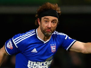 Stephen Hunt for Ipswich Town on January 14, 2015