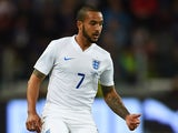 Theo Walcott of England in action during the International Friendly match between Italy and England at Juventus Stadium on March 31, 2015