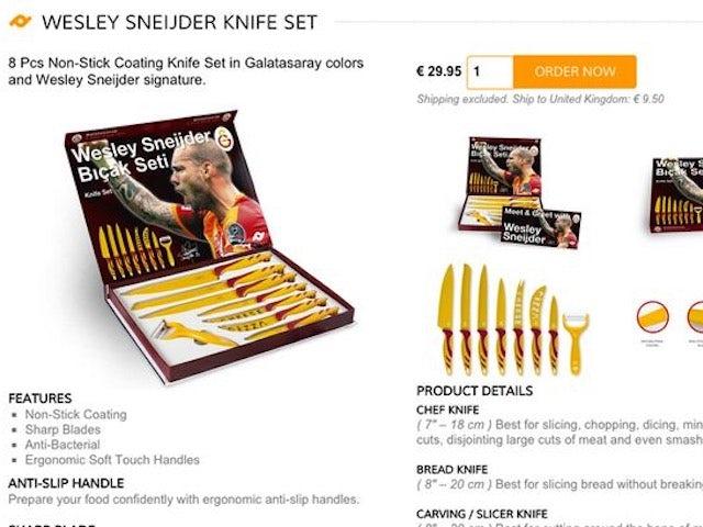 The Wesley Sneijder knife set