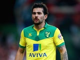 Bradley Johnson for Norwich City on January 10, 2015