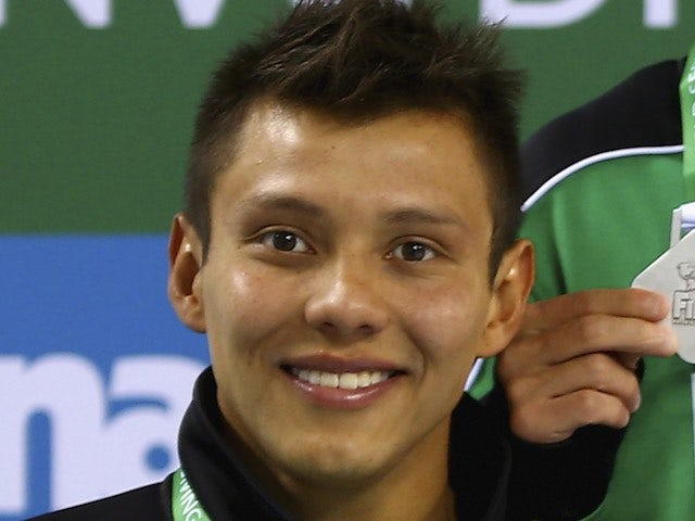Little German Sanchez of Mexico pictured in March 2015