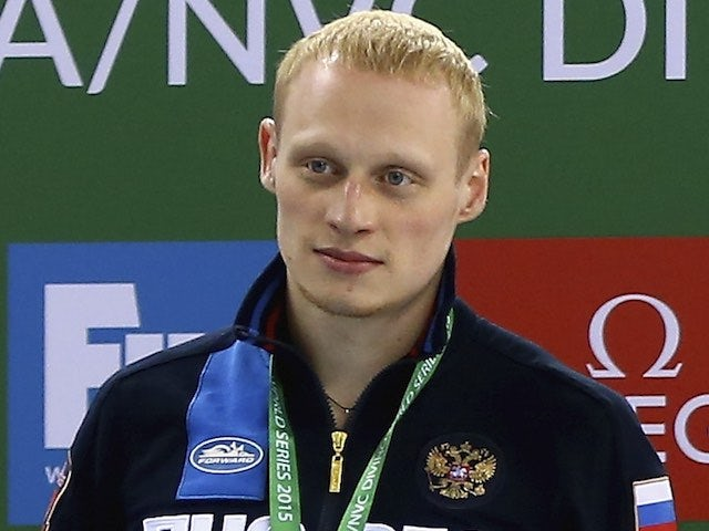 Russia's Ilya Zakharov in March 2015
