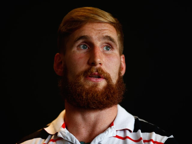 Sam Tomkins of the Warriors speaks to the media during a New Zealand Warriors NRL press conference at Mt Smart Stadium on April 8, 2015