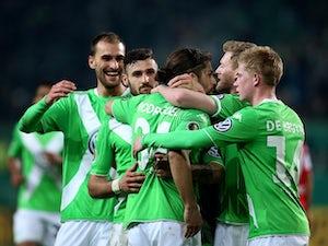 Wolfsburg reach DFB-Pokal semis