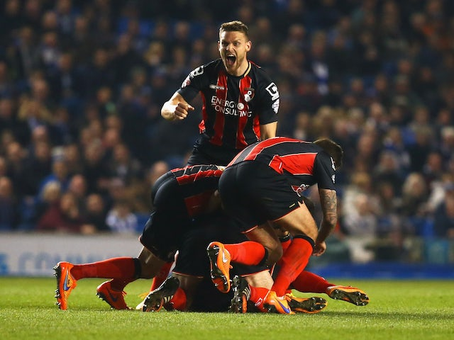 Result: Late goals give Bournemouth win