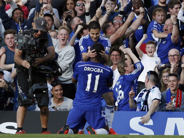 Result: Hazard edges Chelsea closer to title
