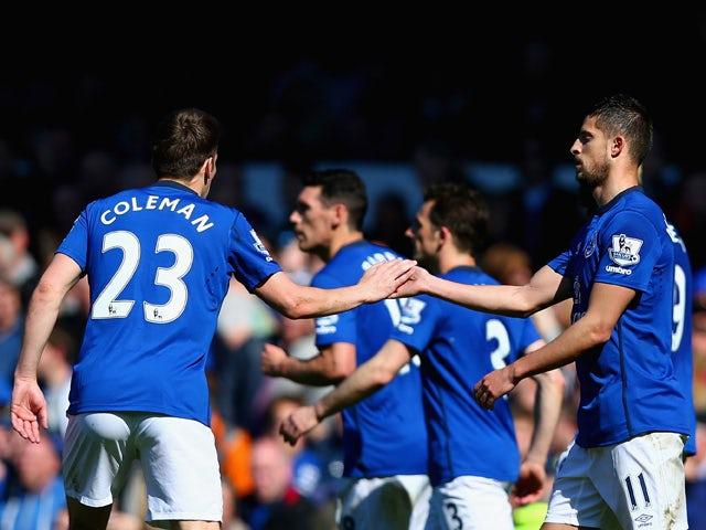 Result: Everton narrowly beat 10-man Burnley