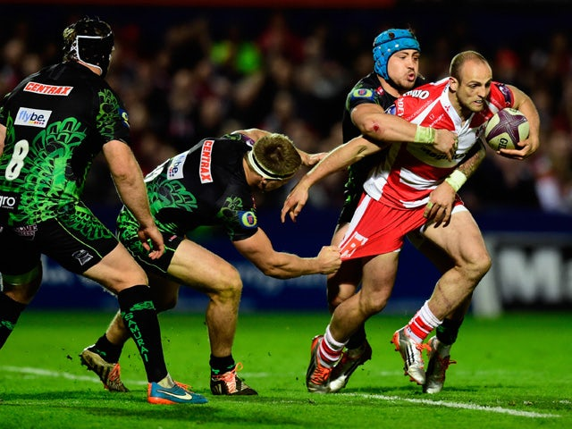Result: Ollie Thorley brace helps Gloucester climb to third in Premiership table