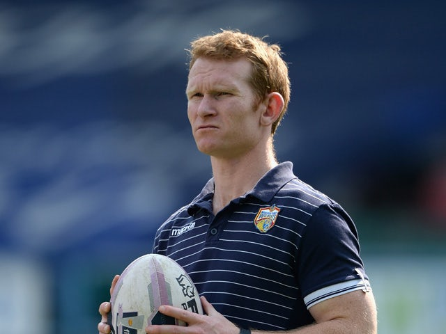 Wakefield assistant coach James Webster during the Super League match between Huddersfield Giants and Wakefield Wildcats at John Smith's Stadium on April 21, 2014