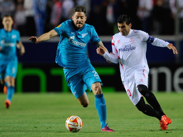 Result: Sevilla leave it late to beat Zenit