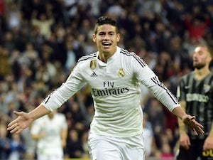 Real Madrid in control against Real Betis