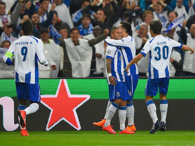 Result: Porto beat Bayern in first leg