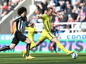 Chadli gives Spurs lead at Newcastle
