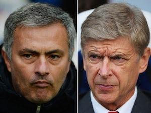 Five of the best: Mourinho vs. Wenger