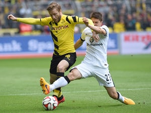 Dortmund in charge against Frankfurt