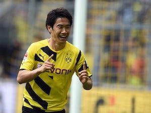 Team News: Kagawa starts for Dortmund