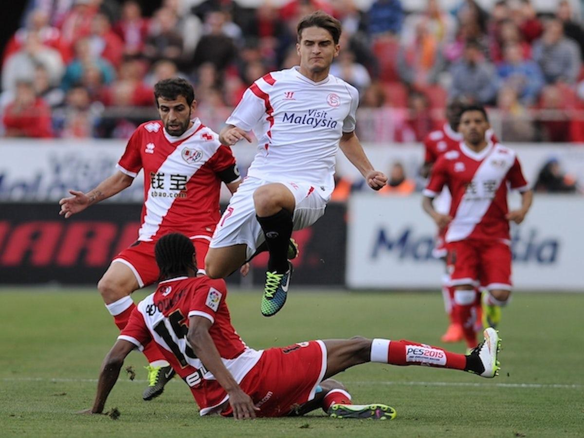 Result Vicente Iborra Daniel Carrico Send Sevilla Fourth