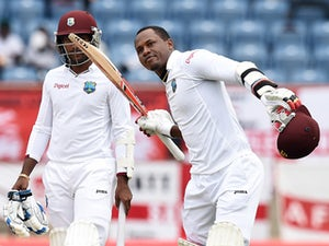 West Indies three down at lunch