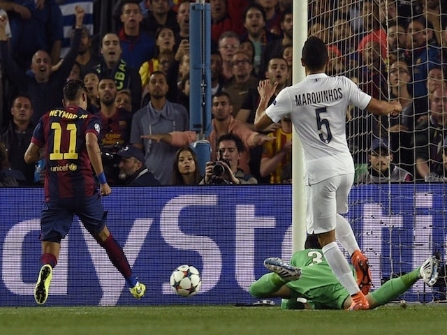 Result Barca Fly Into Cl Semis After Seeing Off Psg Sports Mole
