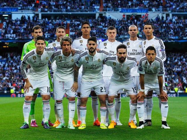 real madrid club de fútbol champions league