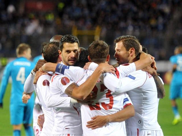 Result: Late Gameiro goal sends Sevilla through