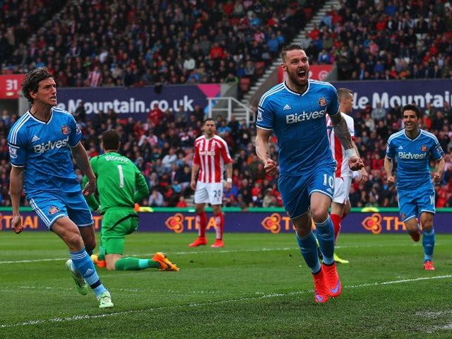 Result: Sunderland take a point at Stoke
