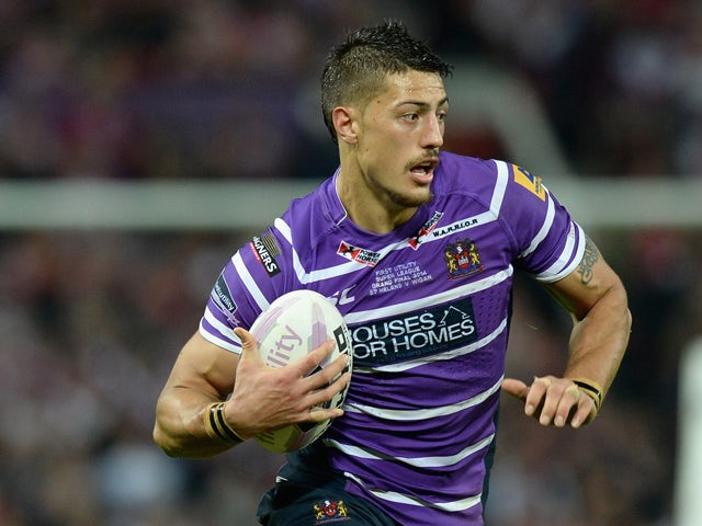 Anthony Gelling stood down by Warrington Wolves as off-field matter investigated