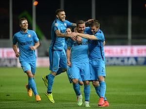 Inter Milan narrowly edge nine-man Udinese