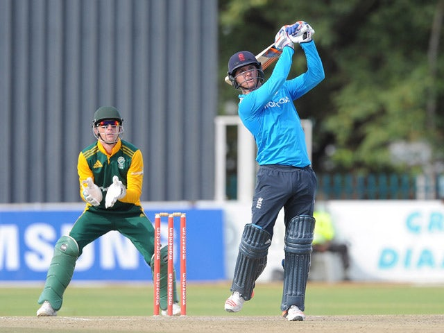 Jason Roy of England Lions during the 2nd ODI match between South Africa A and England Lions at De Beers Diamond Oval on January 28, 2015