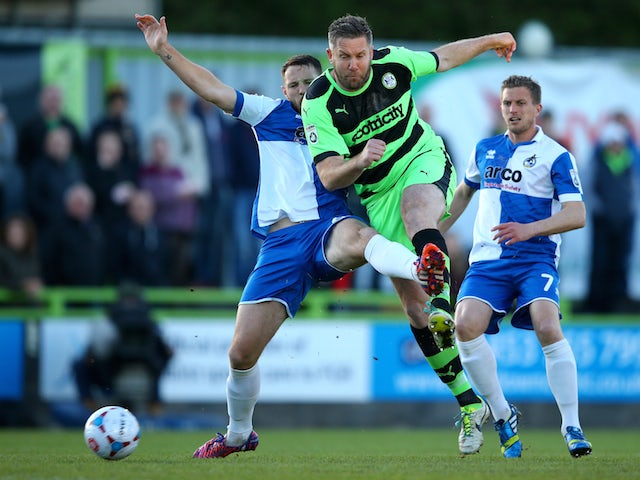Result: Bristol Rovers clinch first-leg victory