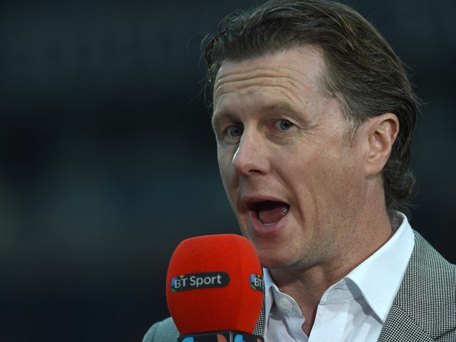 Former Liverpool player Steve Mcmanaman, now a TV pundit, broadcasting ahead of the English FA Cup quarter-final replay football match between Blackburn Rovers and Liverpool at Ewood Park in Blackburn, north west England on April 8, 2015