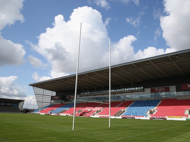 A general view of the AJ Bell Stadium, home of Sale Sharks on August 19, 2014