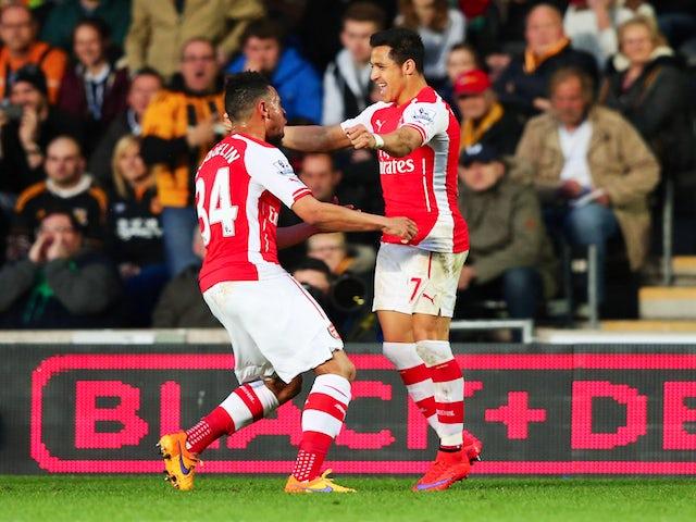 Result: Arsenal make light work of Hull City