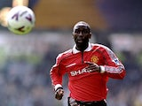 Andy Cole of Manchester United in action during the FA Carling Premiership game between Leeds United v Manchester United at Elland Road on April 25, 1999