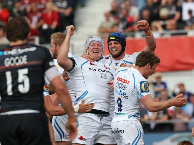 Result: Two-try Waldrom helps Exeter overcome Saracens