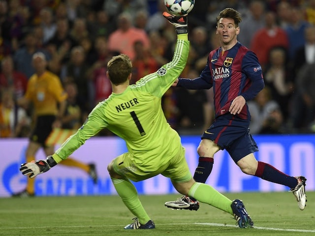 Result: Messi secures Barcelona win