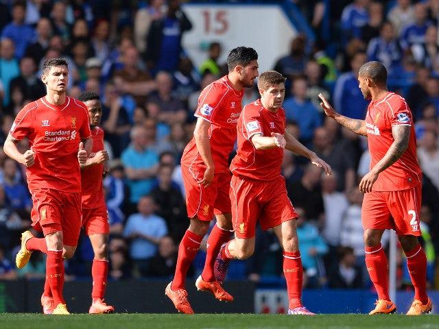 Result: Gerrard equaliser not enough for Liverpool