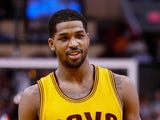 Tristan Thompson #13 of the Cleveland Cavaliers during the NBA game against the Phoenix Suns at US Airways Center on January 13, 2015
