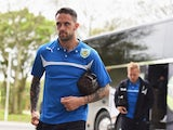 Danny Ings of Burnley arrives at the KC Stadium on May 9, 2015