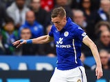Jamie Vardy for Leicester on May 9, 2015