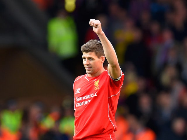 Result: Palace spoil Gerrard's Anfield farewell