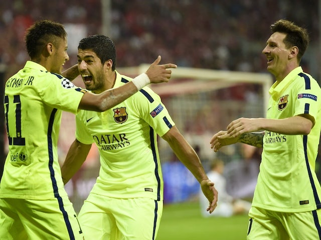 Result: Messi strike hands Barcelona title